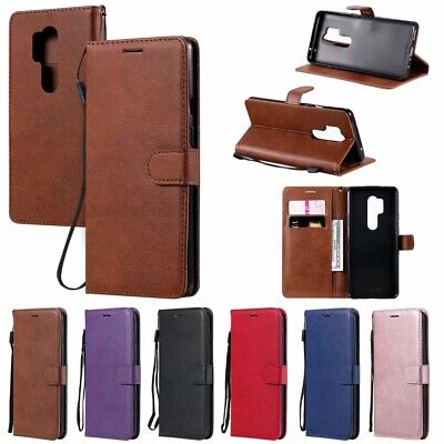 AU8.99 • Buy Slim Wallet Leather Flip Case Cover For OnePlus 8 Pro Nokia 2.3 Sony Xperia L4