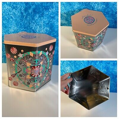 SOAP AND GLORY Sweet Tintations Tin Collectible Empty Container Storage Rope • 2.99£