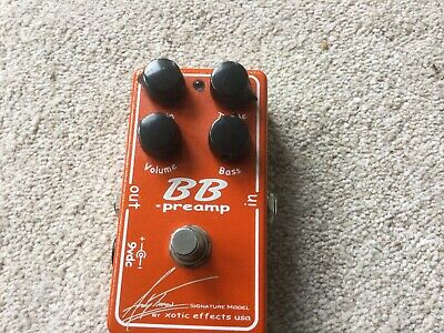 Xotic Effects BB Preamp Andy Timmons Signature Model Limited Edition • 125£