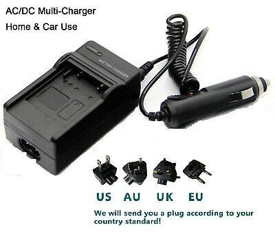Battery Charger For Drift HD-170 Stealth High Definition Innovation X170 X-170 • 6.57£