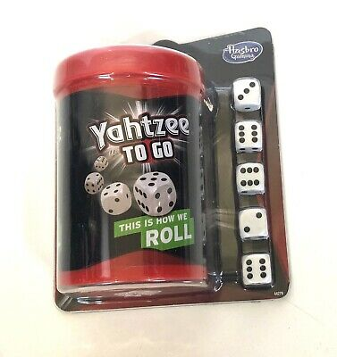 AU12.74 • Buy Yahtzee To Go Travel Game By Hasbro Gaming 2+ Players Fun At Home
