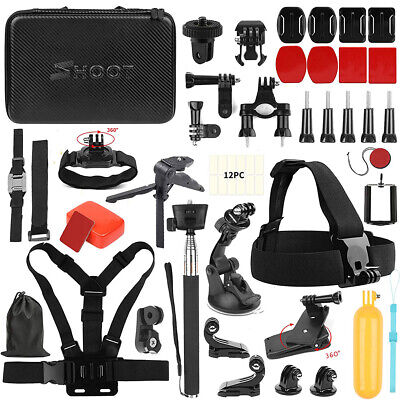 $ CDN67.23 • Buy Accessories Kit  Fr GoPro HERO7 Black Silver White/6/5/4/3+/3/5 Session/Hero2018