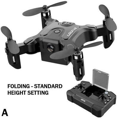 Mini Drone Hd Camera Hight Hold Mode Rc Quadcopter Foldable Fpvquadcopter A3I2 • 24.16£