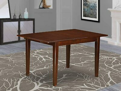 $179 • Buy Norfolk 42-54 Inch Mahogany Rectangular Dining Kitchen Table With Butterfly Leaf