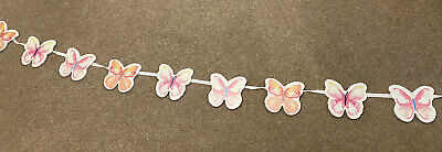Wooden Butterfly Bunting • 6.50£
