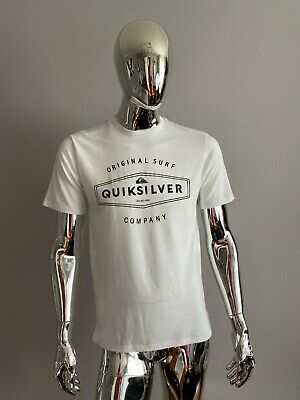 £17.07 • Buy New Quicksilver White Graphic T Shirt Size M