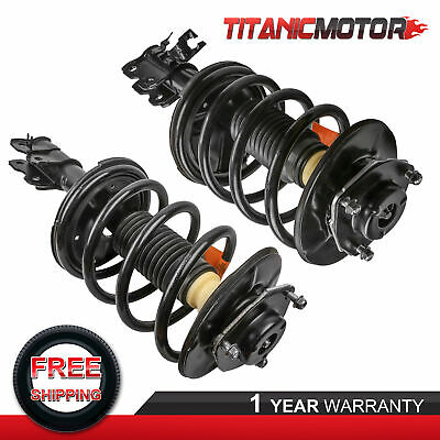 $122.82 • Buy Pair Front Shocks Struts W/ Coil Springs Assembly For Nissan Maxima 2004-2008
