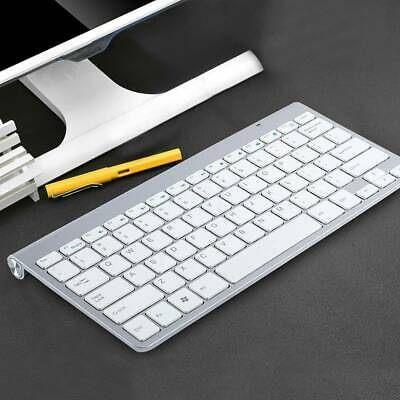 2.4G Waterproof Wireless Mini Keyboard And Mouse Set For Apple Mac PC Computer • 14.86£
