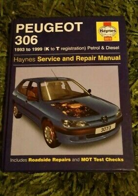 Haynes Peugeot 306 Service And Repair Manual • 5.80£