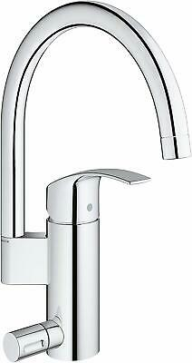 GROHE 33490002 Eurosmart Single-lever Sink Mixer Tap With Integrated Stop Valve • 99.76£