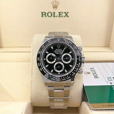 $ CDN35278.24 • Buy New Rolex Cosmograph Ceramic Daytona Stainless Steel Watch116500LN Full Stickers