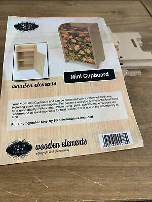 £15 • Buy Stamps Away Collection Wooden Elements Mini Cupboard