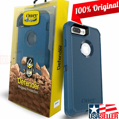 AU36.08 • Buy OtterBox IPhone 8 Plus/7 Plus Blue Defender Rugged 3-Layer Hybrid Holster Case