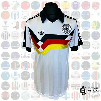Germany Home 1990 Retro Adidas Remake - Medium • 16£