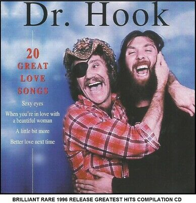 Dr Hook - A Very Best 20 Greatest Hits Collection CD - 70's Country Rock Pop • 3.69£