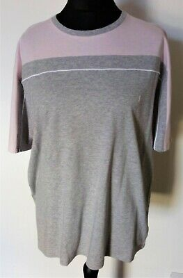 Yves Saint Laurent Pink And Grey Man's T-shirt, Size XL. Used, Excellent. (56) • 19.99£