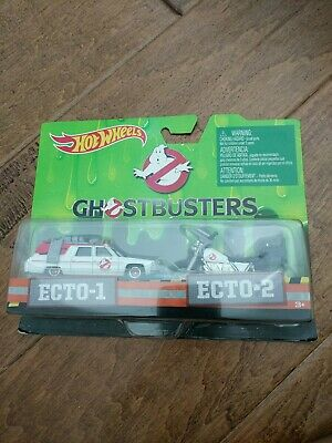 Hot Wheels Ghostbusters Ecto-1 & Ecto-2 2 Car Pack • 8.68£