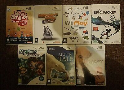 Nintendo Wii - 7 X Childrens Kids Games (PEGI 3+) PAL UK *FREE DELIVERY* • 11.20£