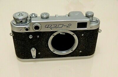 $ CDN19.74 • Buy Vintage USSR Camera FED-2 Only Body With Case