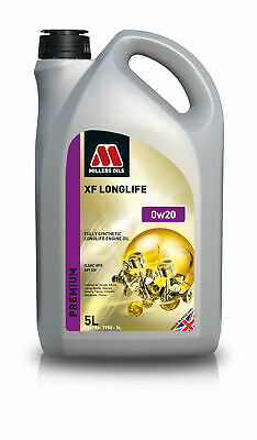 Millers Oil 7950GG Fully Synthetic 0W20 Lexus Suzuki Toyota 5 Litre Engine Oil • 27.99£
