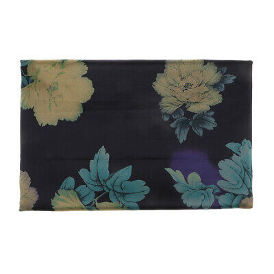 Chinese Peony Flower Satin Fabric Material Silk For Curtain Bags Dressmaking • 4.99£