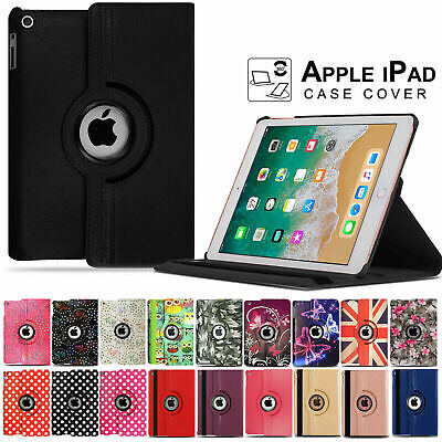£4.99 • Buy For Apple IPad 9.7 Inch [2017/18] & [Air1/2] 360° Rotating PU Leather Case Cover