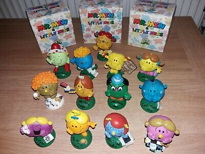 Holland Studio Mr Men And Little Miss Figures With Boxes • 6.95£