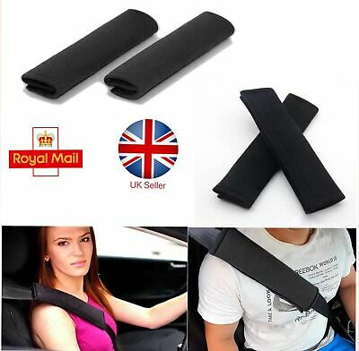 1/2/4pcs Car Seat Belt Pads Harness Safety Shoulder Strap Cushion Covers  UK • 4.69£