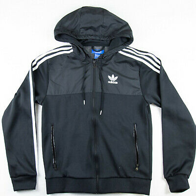 £44 • Buy /// Adidas Originals Size S Small Jacket Track Top TT Tracksuit Hoodie Hooded