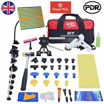 Car Body Paintless Hail Removal PDR Tools Dent Puller Lifter Line Board Glue Kit • 52.86£