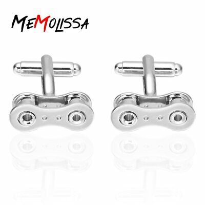 £4.99 • Buy Bicycle Bike Chain Link Novelty Cufflink Cyclist Gift - Fast UK Dispatch