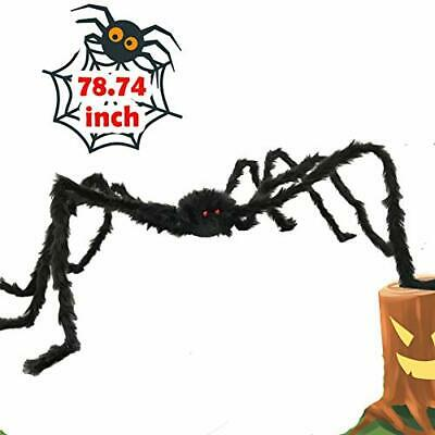 $ CDN23.37 • Buy 6.5ft Large Halloween Decorations Outdoor Spider Posable Furry Black Giant