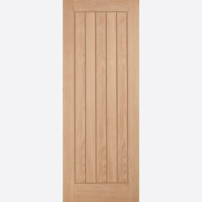 Oak Internal Door Belize Solid Wooden Cottage 5 Panel Grooved Interior Door  • 123.99£