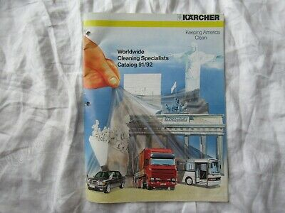 £13.03 • Buy Karcher Cleaning Equipment Catalog Brochure Pressure Washers Vacuum Cleaners