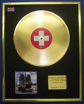 Eminem Recovery Cd Gold Disc Lp • 157.97£