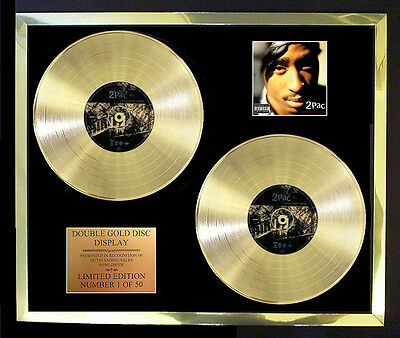 2pac Greatest Hits Double Album Cd Gold Disc Free Postage!! • 327.97£