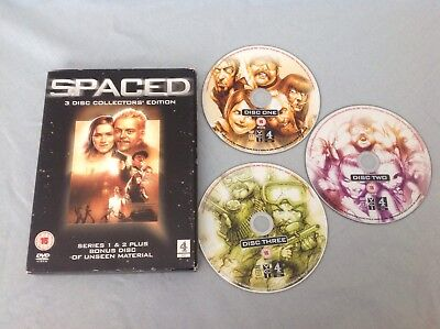Spaced: The Complete First And Second Series (Box Set) DVD (2006) Simon Pegg • 8.95£