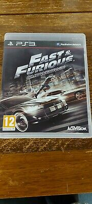 Fast And Furious Showdown Ps3 Game • 6£