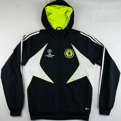 £55 • Buy /// Adidas Chelsea FC Size S Small Jacket Track Top TT Tracksuit Hooded Hoodie M