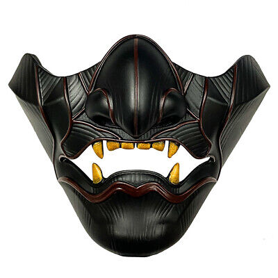 $ CDN22.29 • Buy Half Face Mask Ghost Of Tsushima Sakai Cosplay Mask Halloween Party Prop New