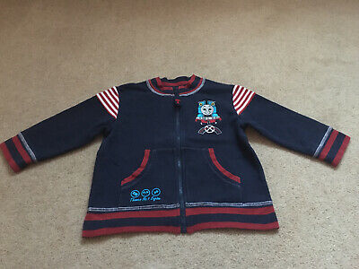 """"""" THOMAS THE TANK ENGINE"""" Infant Boys Jacket From Adams. (2-3 Years) • 3.50£"""