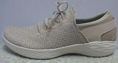 Skechers Slippers Sneakers Low Shoes Size 41 To 42 Natural Taupe Tone (368) • 47.21£