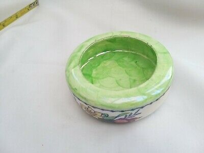 £12.99 • Buy Maling Pottery Lustre Ware Green Ash Tray Or Small Bowl In Good Condition
