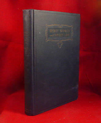 Spirit World And Spirit Life - Automatic Writing By C.E.D. 1922, Uncommon Signed • 530.24£