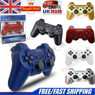 SONY PS3 Controller GamePad PlayStation 3 DualShock 3 Wireless SixAxis PS3 UK • 12.99£