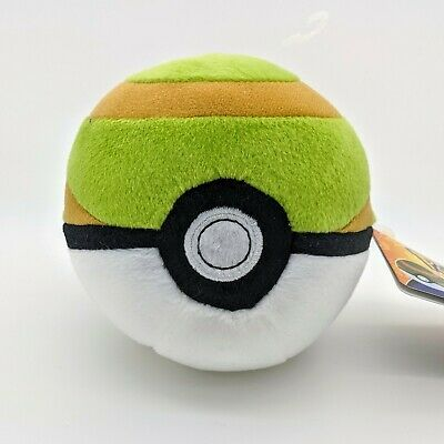 Official Pokemon Nest Ball TOMY Soft Plush Toy UK SELLER  • 12.99£