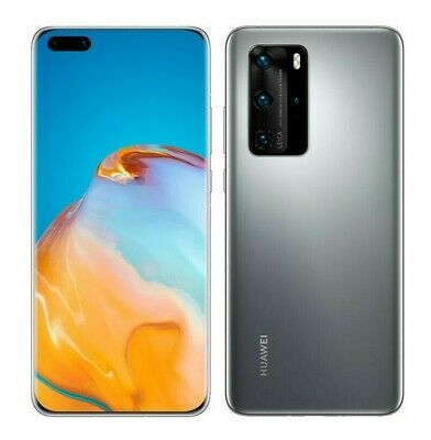 $548 • Buy NEW Huawei P40 Pro 6.58  (GSM UNLOCKED) 50MP Smartphone ELS-N04 | Silver Frost