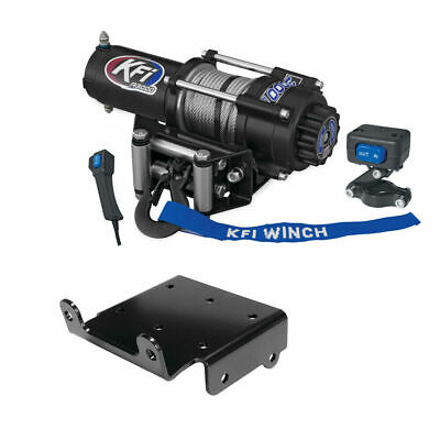 AU406.29 • Buy Winch Kit 3000 Lb For Yamaha Grizzly 400 4x4 2007-2008 (Steel Cable)