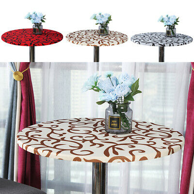 AU11.77 • Buy Stretch Round Table Cloth Dining Table Cover Mat/Tablecloth Home Kitchen Decor
