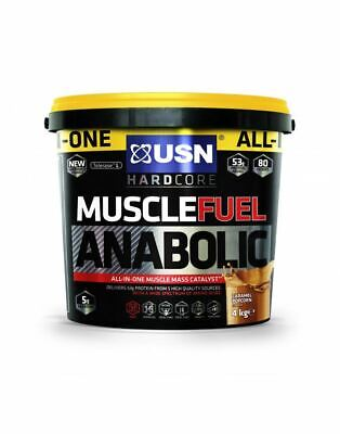 £74.99 • Buy USN Muscle Fuel Anabolic Muscle Mass & Growth Shake Powder - 4kg